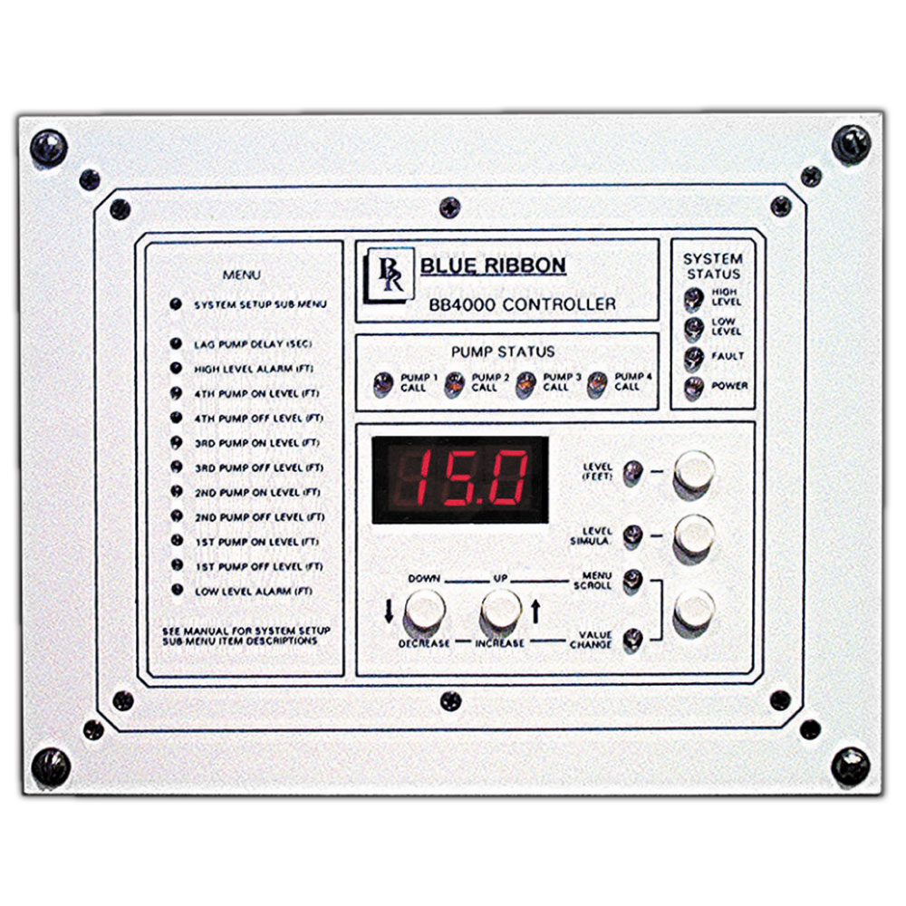 Pump Controller Products | Blue Ribbon Corp Distributor